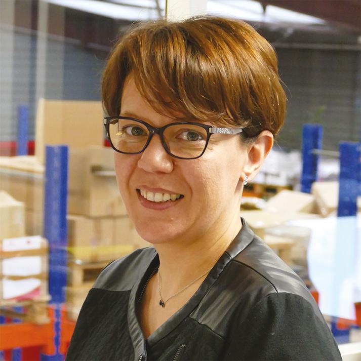 Gwenaëlle BINET Assistante commerciale PRN