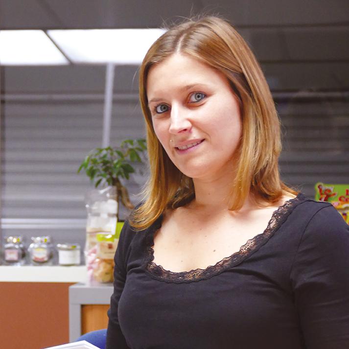Charlène MARIE assistante commerciale PRN